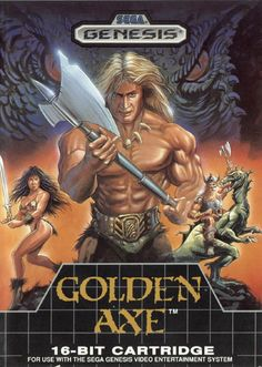 Golden Axe for the Sega Genesis.