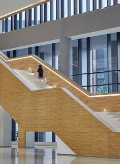 Gallery of Wuhan Tencent R&D Center / IDEAL - 15 Unique Architecture, Wuhan, Atrium, Stairs, Gallery, Modern, Photography, Home Decor, Stairway