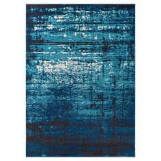 Add a trend-right note to your décor with the Well Woven Sydney Vintage Crosby Distressed Indoor Area Rug . Constructed from air twist frieze. Navy Blue Area Rug, Blue Area Rugs, Blue Rugs, Sydney, Contemporary Area Rugs, Contemporary Style, Area Rug Sizes, Throw Rugs, Large Rugs