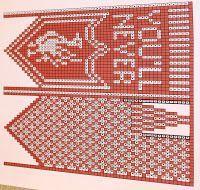 Ingridstua: Votter til fotballsupportere i familien Ingridst. Mittens Pattern, Knit Mittens, Knitting Socks, Crochet Pattern, Knitting Charts, Knitting Patterns, Viera, Handicraft, Liverpool