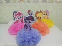 My Little Pony Centerpieces My Little Pony by PartyTownCuties