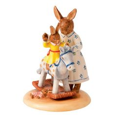 My Antique World: Royal Doulton Bunnykins figures by Christopher Proudlove