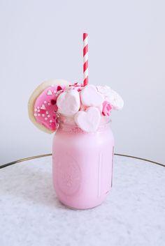 Valentine's Day Milkshakes