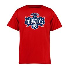 Washington Mystics Youth Primary Logo T-Shirt - Red