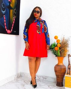 African Fashion Ankara, Latest African Fashion Dresses, African Print Fashion, African Prints, African Style, African Shirt Dress, Short African Dresses, African Clothes, Gowns