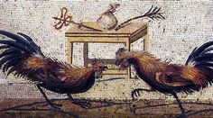 The Cockfight Mosaic - Naples, Naples