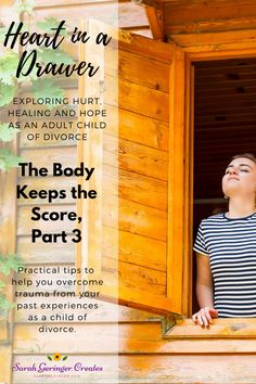 In our final discussion of The Body Keeps the Score, we discover three practical tips for handling the trauma of our past. Learn more in Episode 37 of Heart in a Drawer, the podcast for adult children of divorce. Christian Podcasts, Christian Meditation, Hope In God, Divorce And Kids, Meditation For Beginners, Mental And Emotional Health, Christian Parenting, Great Words, Adult Children