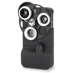 The Tricloptic iPhone Camera Lens - Hammacher Schlemmer