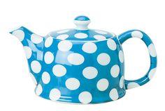 Blue Dot Teapot