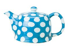 So cute! Blue Dot Teapot as seen on One Kings Lane