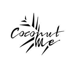 """좋아요 47개, 댓글 3개 - Instagram의 NATCH STUDIO(@natchstudio)님: """"Coconut me! Logotype Design for original Cononut Bowls made in Bali :) #natchstudio #heynatch…"""""""