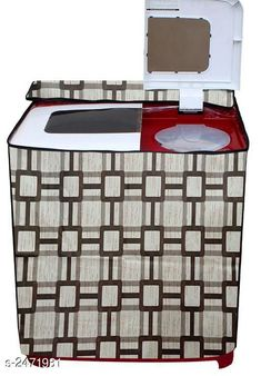 Appliance Covers Colorful Non-Woven Washing Machine Cover Material:  Non Woven Size ( L x B x H ) :  20 in  X 31 in X 30 in  Description: It Has 1 Piece Of Washing Machine Cover Work: Printed Country of Origin: India Sizes Available: Free Size   Catalog Rating: ★4 (2992)  Catalog Name: Deluxe Colorful Non-WovenWashing Machine Covers Vol 1 CatalogID_331871 C131-SC1624 Code: 522-2471931-354
