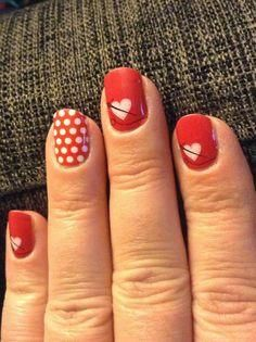 Mix Poppy and White Polka with Fashion Delivers!    http://paintitred.jamberrynails.net/color/Red