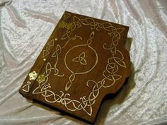 Book of Shadows / Journal / Grimoire / Spell Book / Notebook / Visual Diary- Engraved