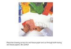 Eric Carle tissue paper tutorials #WorldEricCarle #HungryCaterpillar
