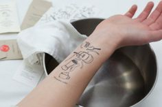 Here's One Way To Keep Track Of A Recipe: Tattoo It To Your Arm | Food Republic