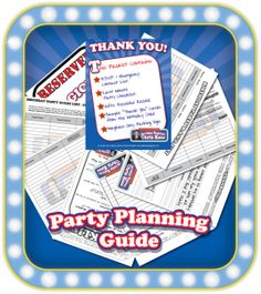 Magic Birthday Party Planning Guide Get this FREE printable Magic Party Planning Guide when you book Chris Rose for your child's birthday party! It's an Adobe PDF with lots of great information and includes: RSVP & emergency contact sheets,  last minute party checklist, gifts received list, sample Thank You cards, and a parking sign for your magician.