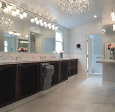 Just completed upstairs large bath remodel for Eta Delta Sorority House at UCLA.