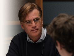 Aaron Sorkin profile picture for his online screenwriting class