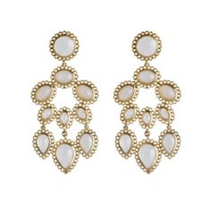 Bridal earrings from Asha by ADM super love!!
