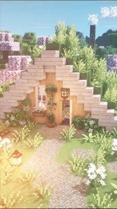 Minecraft Mansion, Easy Minecraft Houses, Minecraft House Tutorials, Minecraft Plans, Minecraft House Designs, Minecraft Tutorial, Minecraft Blueprints, Minecraft Art, Minecraft Crafts