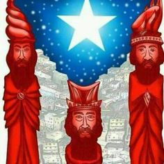 Dia de Reyes Puerto Rican Christmas, Pr Flag, Puerto Rican Flag, We Three Kings, Puerto Rican Culture, Three Wise Men, Puerto Ricans, Beautiful Islands, Beautiful Images