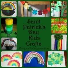 St. Paddy's Day: Crafts for Kids