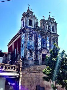Igreja de S. Ildefonso no Porto www.webook.pt #webookporto #porto