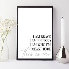 Impress fans of the hit musical The Greatest Showman with this unique print of lyrics of the smash hit song This is me. Available in 4 different sizes. The perfect gift for fans of The Greatest Showman. Check out our shop for other prints inspired by our love of songs from The