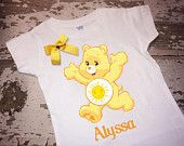 Care Bears Sunshine Bear T-Shirt with Bow