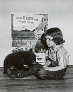 From Orphaned Cub to Internationally Known Forest Service Icon, Smokey Bear Turns 70 Years Old Next Year!