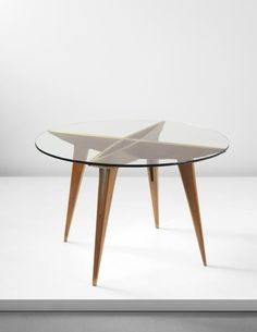 PHILLIPS : NY050314, Gio Ponti, Early center table, from a private commission