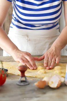 Ravioli ripieni di pomodoro e ricotta