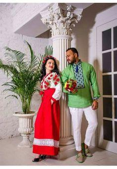 Свадебный наряд в национальном стиле СВ-07