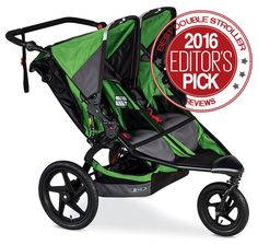 Best Double Stroller reviews of 2016. A complete guide to all the top rated tandem strollers available for twins and siblings.