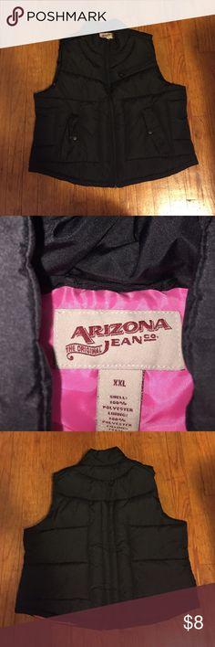 🎉Arizona puffer vest Excellent barely worn condition!! Arizona Jean Company Jackets & Coats Vests