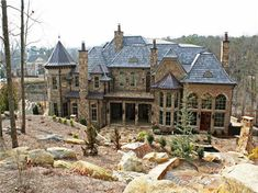 My castle. this is overkill if I have enough money to build this I better have … - Architecture Beautiful Architecture, Architecture Details, House Architecture, Future House, My House, H & M Home, Big Houses, House Goals, My Dream Home