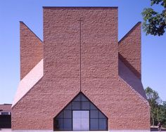Church in Seriate, Italy. Mario Botta. 2004