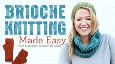 A new Craftsy Brioche knitting class by Mercedes Tarasovich-ClarK: Brioche Knitting Made Easy