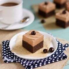 Brownies with Mocha Buttercream...sink your teeth into these babies!