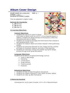 High school art sub plans _ high-school-kunst-unterpläne _ plans secondaires d'art s. Art Education Lessons, School Lessons, Art Lessons, Art History Lessons, Art Sub Plans, Art Lesson Plans, Middle School Art Projects, Art School, Cover Design