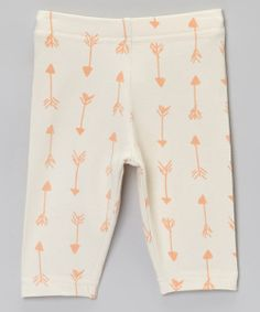 Little ones need clothing that won't just keep them cozy. It also has to move with them! These stretchy leggings feature an adorable design and a soft fabric that keeps tiny limbs in a state of bliss.