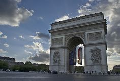 Arch de Triumph - was there in May 2008 - was raining that day.