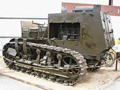 1917 Holt 10 Ton Military Tractor 3 by Jack_Snell, via Flickr