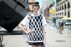 This is FUN! - DIY A Cut-Out T-Shirt