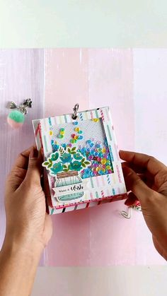 Diy Crafts Hacks, Diy Crafts For Gifts, Creative Crafts, Diy Birthday, Birthday Gifts, Paper Crafts Origami, Decoration, Cards Diy, Scrapbook