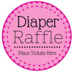 Free Diaper Raffle Tickets Printable  Diaper Raffle Raffle