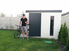 Montované záhradné domčeky na náradie | GARDEON Garage Doors, Bicycle, Outdoor Decor, Home, Bike, Bicycle Kick, Ad Home, Bicycles, Homes