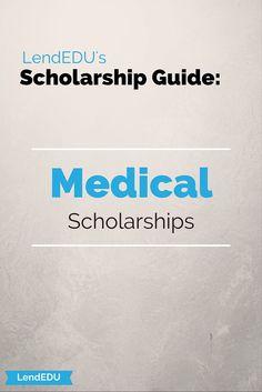 LendEDU's Scholarship Guide: Medical Scholarships Social Work Scholarships, Cosmetology Scholarships, Nursing Scholarships, Athletic Scholarships, School Scholarship, Cosmetology Student, Student Loans, Graduate School, Cheerleading Scholarships