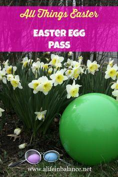 All Things Easter: Easter Egg Pass with Ball #allthingseaster